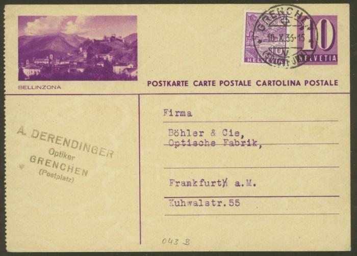 Bildpostkarten Zumstein P 139, 139y, 139z (269  verschiedene Karten)  P_139y10