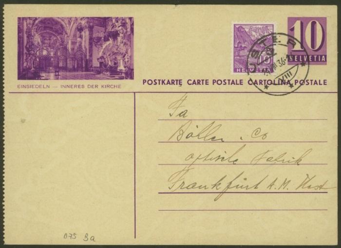 Bildpostkarten Zumstein P 139, 139y, 139z (269  verschiedene Karten)  P_139y12