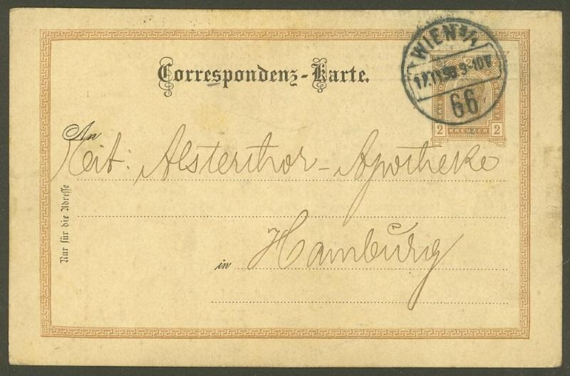 Österreich: amtliche Ganzsachenpostkarten mit privaten Zudrucken P_74_110