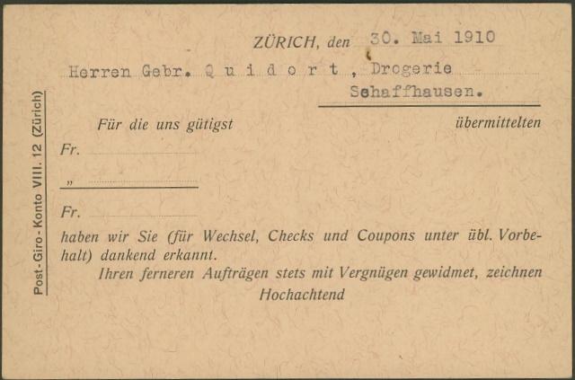 Private Ganzsachenpostkarten - Wertstempel Kreuz und Wertziffer Pp_2_w10