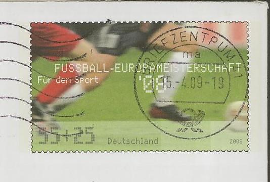 Deutschland - Gedenkbriefumschläge der Deutschen Post Uso_1510