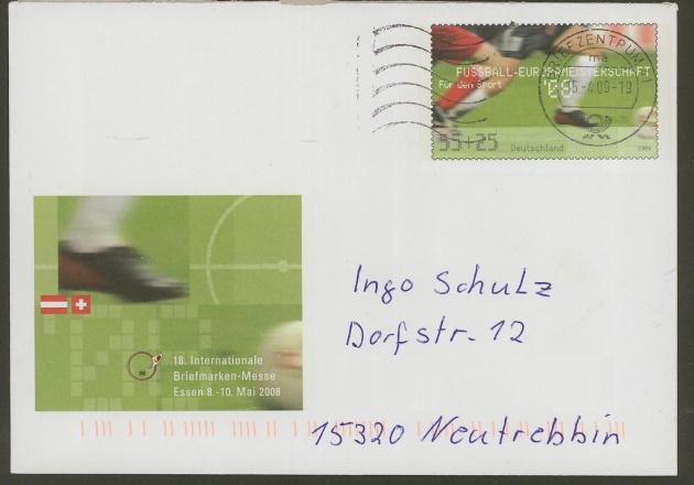 Deutschland - Gedenkbriefumschläge der Deutschen Post Uso_1511