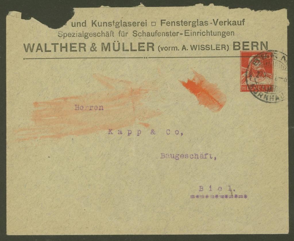 Private Ganzsachenumschläge - Wertstempel Tellkopf Walthe15