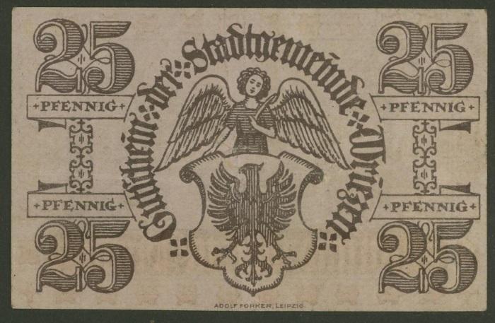 Mein Sammelgebiet: Notgeld und Rationierung-Lebensmittel-Karten. Wrieze10