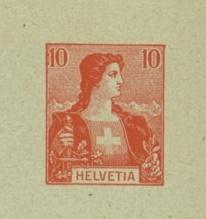 Private Ganzsachenumschläge - Wertstempel Tellknabe/Helvetia (Ausgabe 1907) Wstpl_10