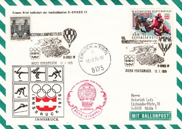 Kinderdorf-Sonderballonpost in Österreich Xiv_e_12