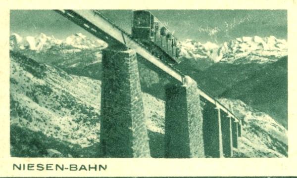 Bahnen jeder Art auf Bildpostkarten der Schweiz Zu_13312