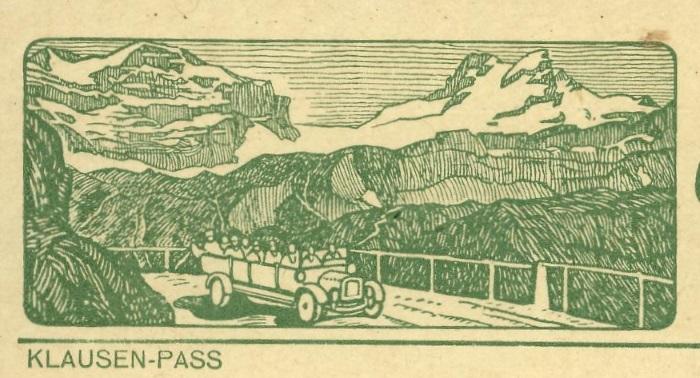 Kraftfahrzeuge auf Bildpostkarten der Schweiz Zu_82_13