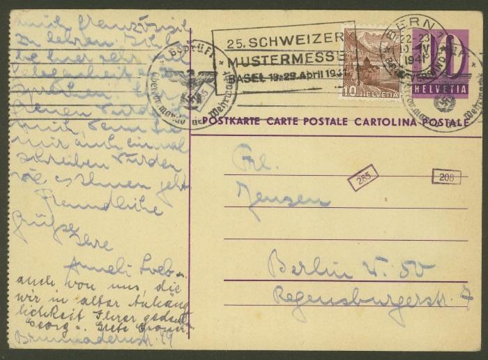 Ganzsachenpostkarten - Ausgaben 1935 bis 1964 Zu_p_112