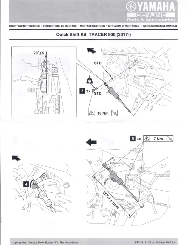 shifter TRACER 900 2017? - Page 2 N211
