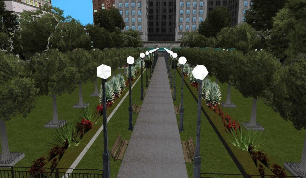 [Маппинг] Парк у Мэрии Los Santos Автор: The Free Company Urpnh110