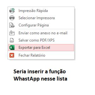 Menu relatório com anexo para WhastApp Whatsa11