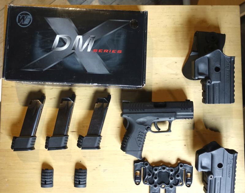 vends réplique de poing WE XDM 3.8 - dernier prix Xdm10