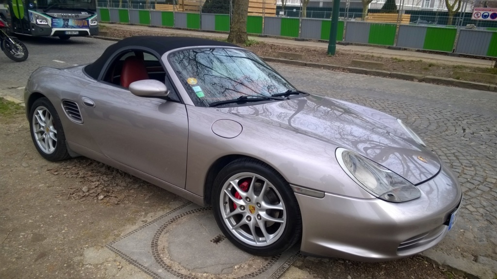 BRUIT BOXSTER 986 2.7 PHASE 2  Wp_20111
