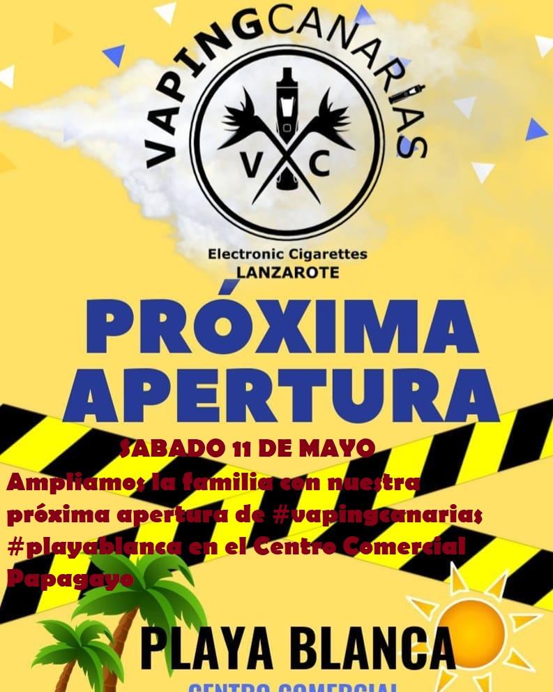 próxima inauguración / Vaping canarias en Lanzarote 56899510