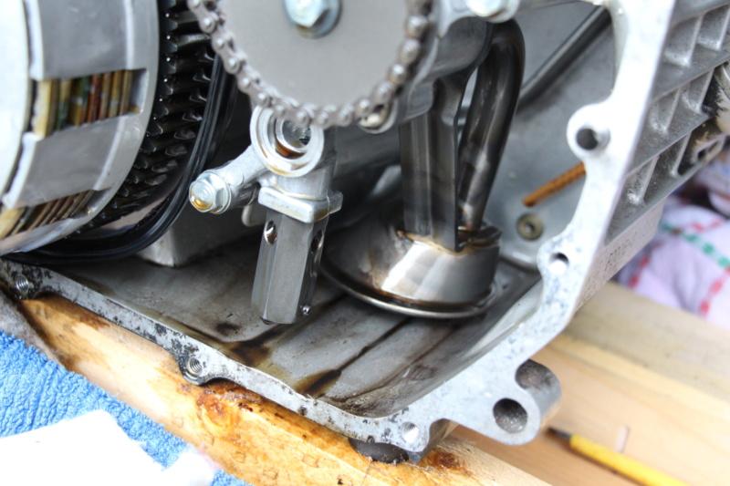 Andruckscheibe Ölfilter und neues Flügelrad Img_0810