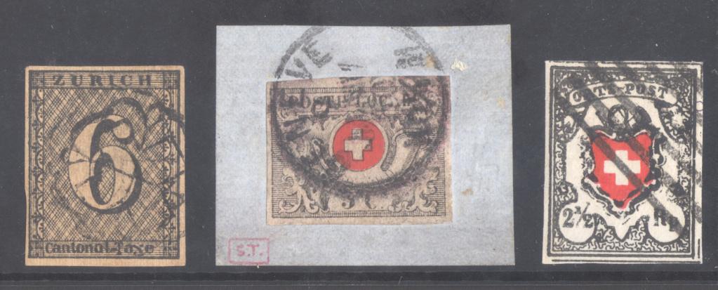 Zürich 6, Genf 5 cent. und Ortspost: Fälschungen oder Echt? Eric_110