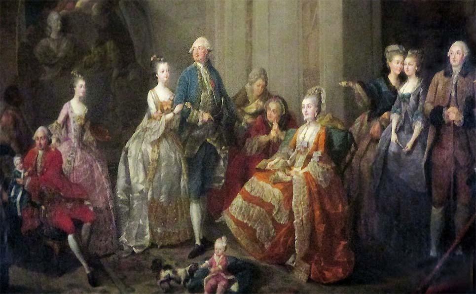 Qui sont les personnages peints sur ce tableau de Jean-Baptiste-André Gautier Dagoty ? Dagoty11