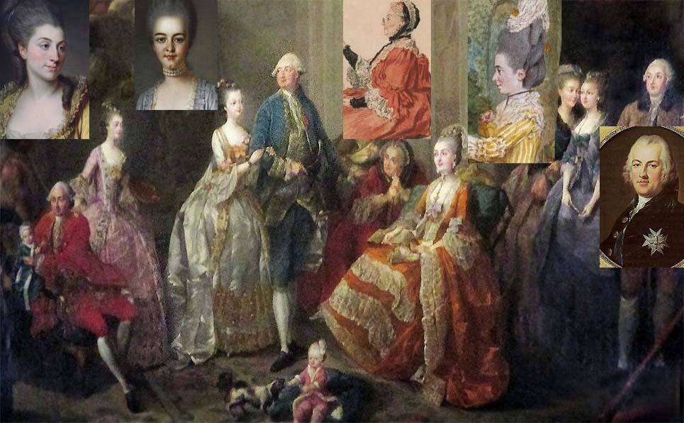Qui sont les personnages peints sur ce tableau de Jean-Baptiste-André Gautier Dagoty ? Dagoty12