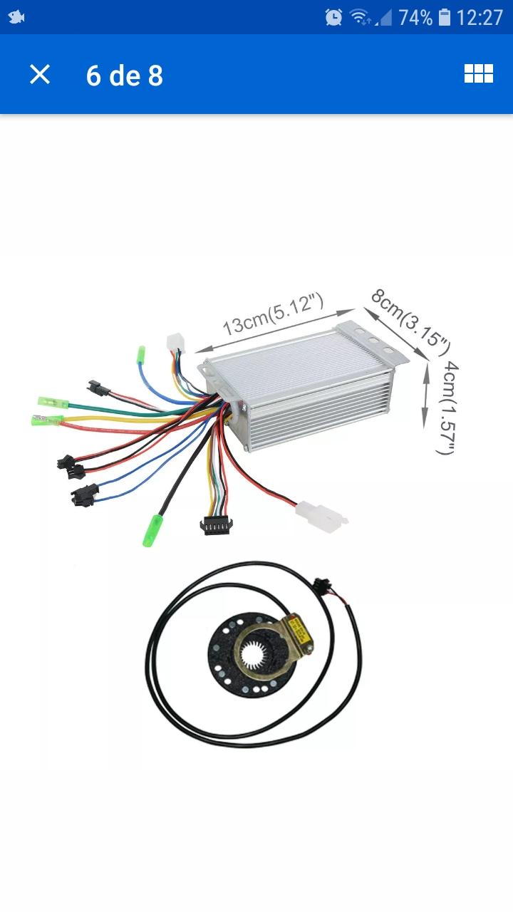 Cambio de sensor pass Screen10