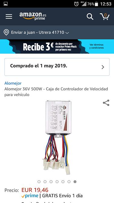 Conector roto: substituirlo por uno nuevo  Screen14