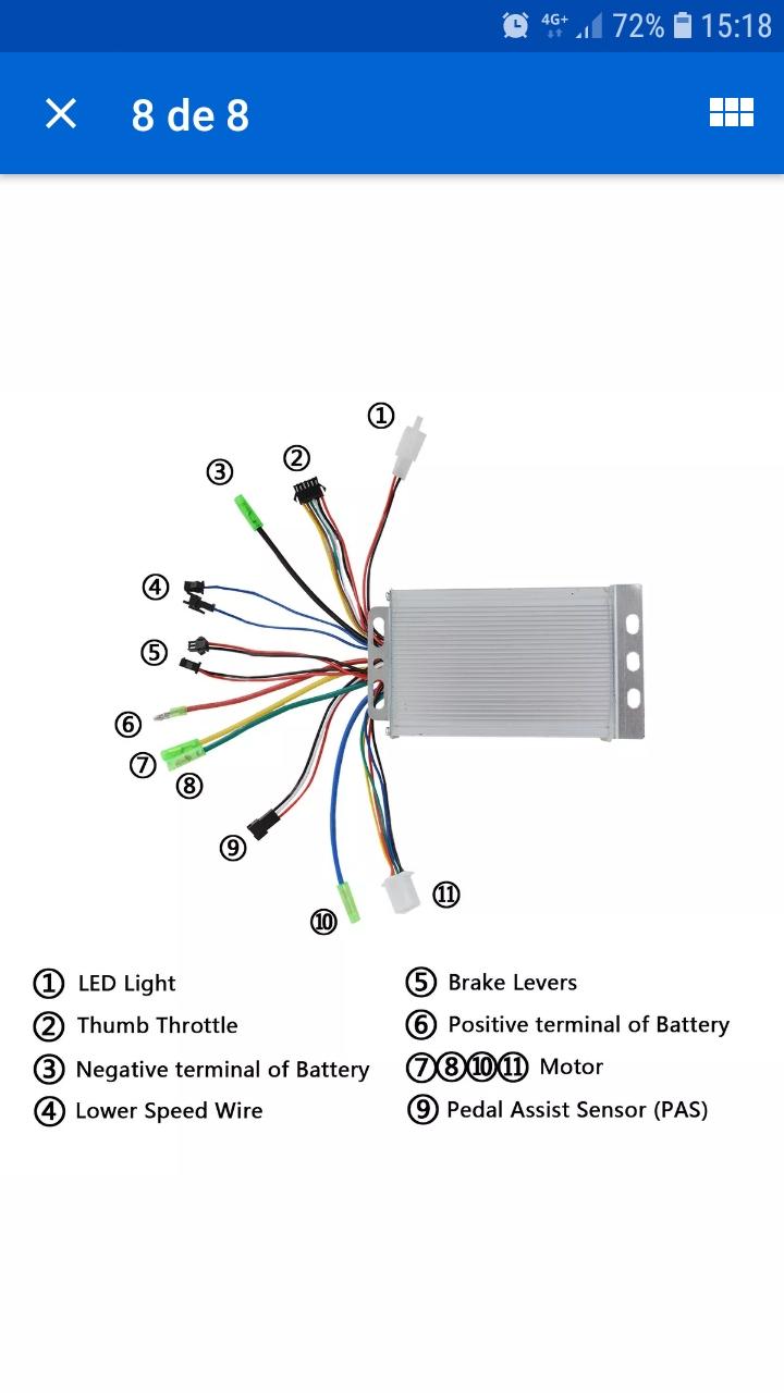 LCD de 5 pin Screen18