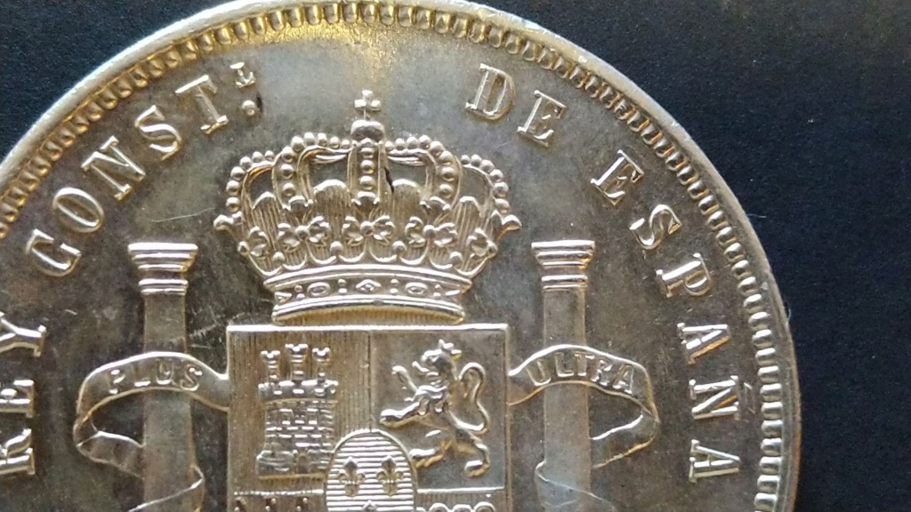 5 Pesetas 1885 (*18-85). Alfonso XII Cm190518
