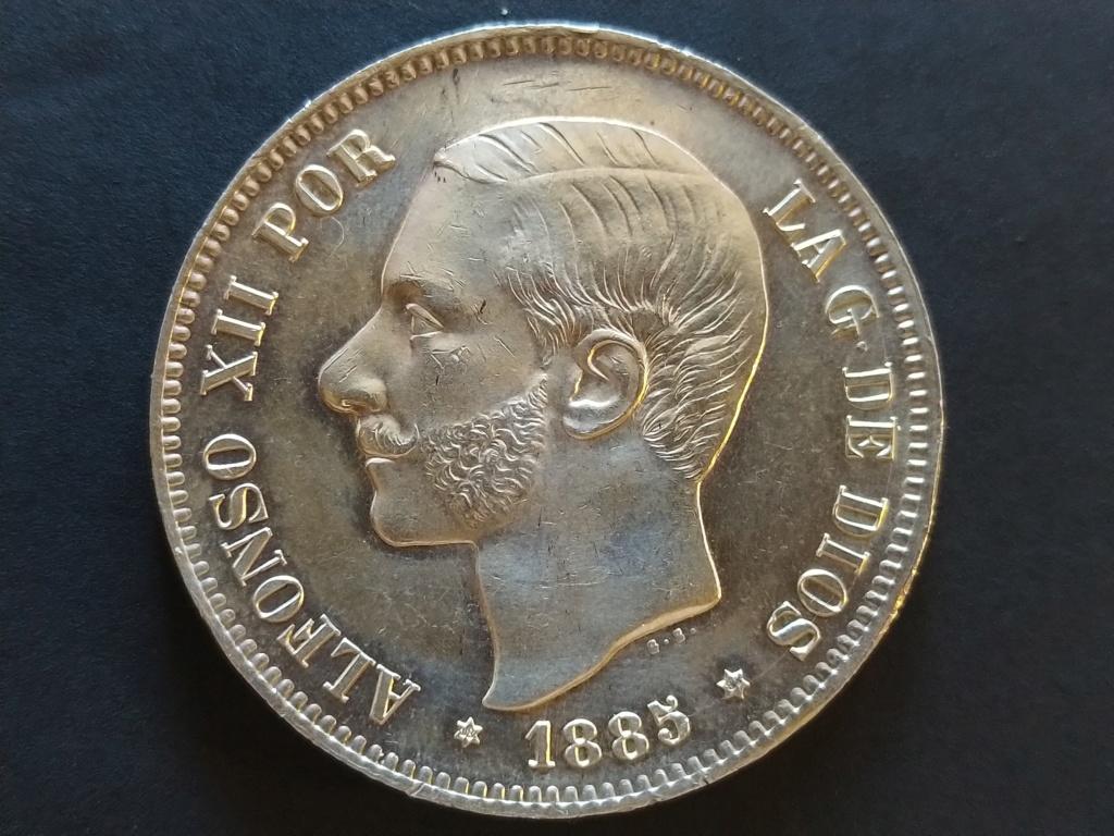 5 Pesetas 1885 (*18-85). Alfonso XII Img_2012