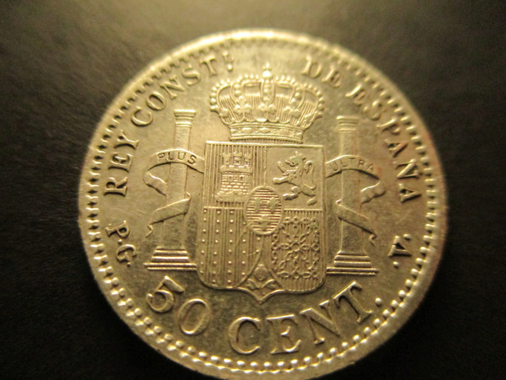 50 centimos 1896. Alfonso XIII. Variante oreja rallada Img_2111