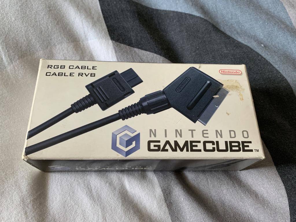 [Estim] Console Gamecube en boite et accessoires D16eca10