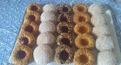 حلويات عيد الاضحى 2019 حلويات بنفس العجين و باشكال مختلفة 910