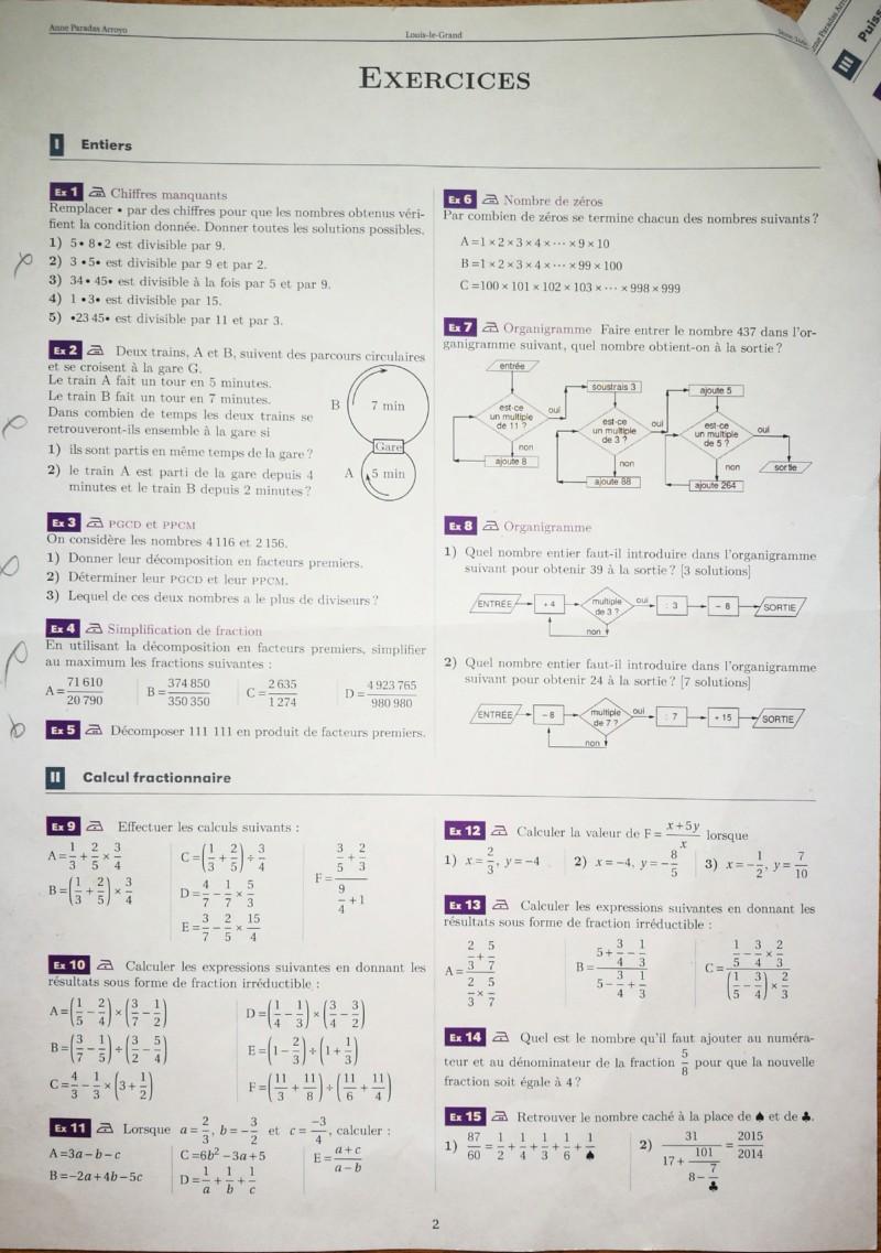 Cahier de vacances mathématiques Seconde 20190711