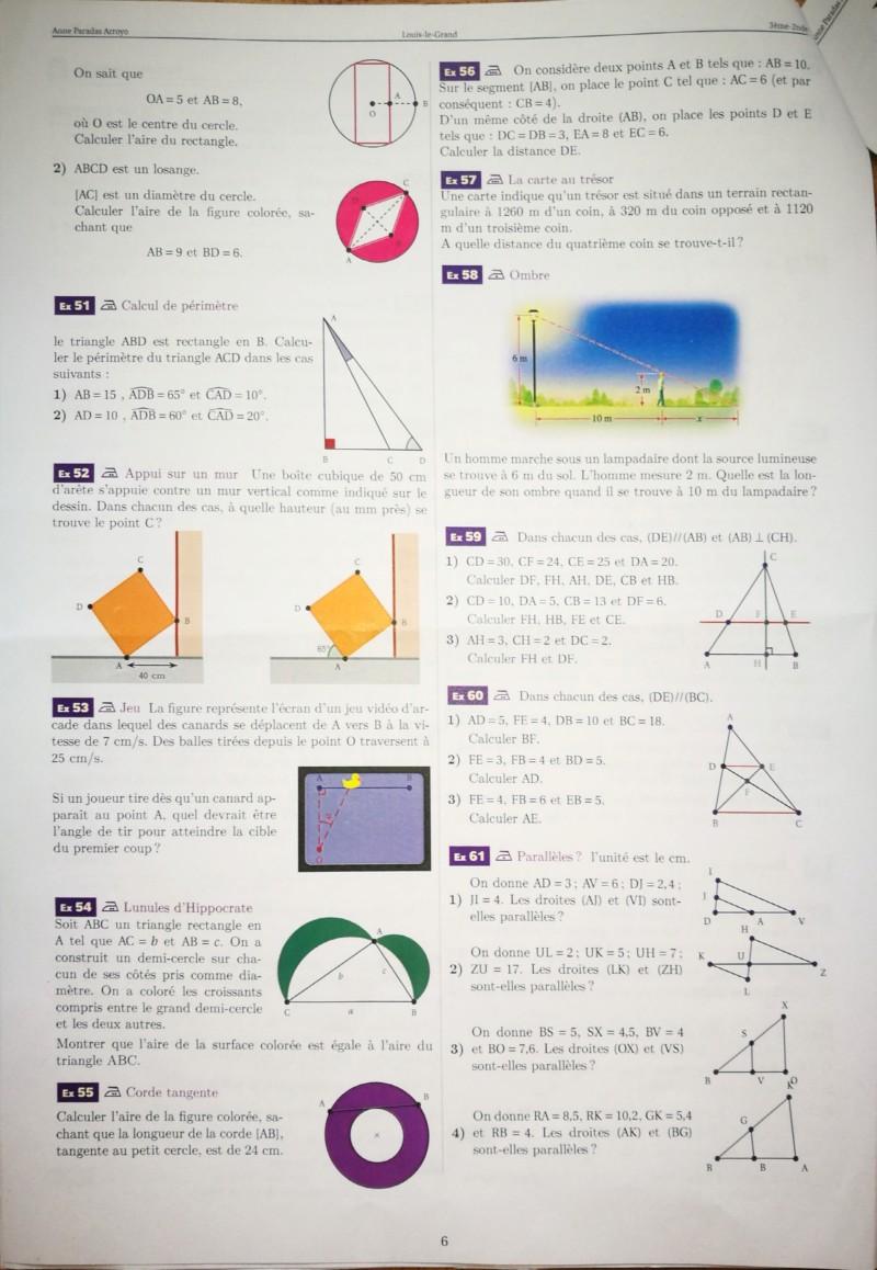 Cahier de vacances mathématiques Seconde 20190715