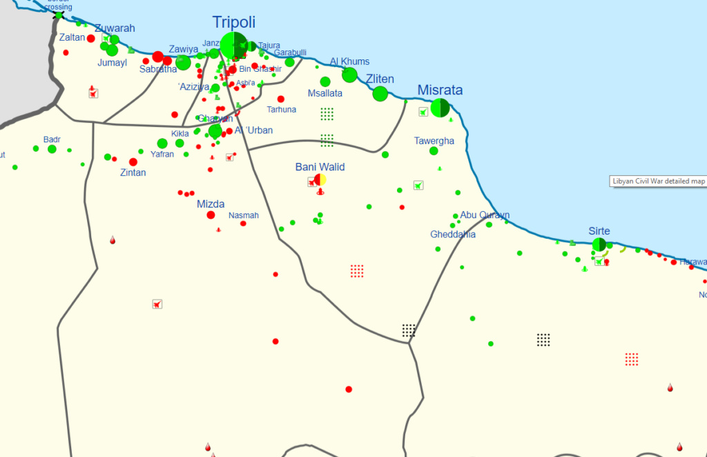 Interactive maps - conflicts Libya10