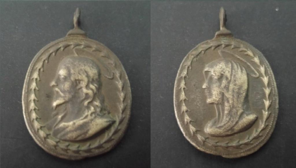 Salvator Mundi / Mater Salvatoris - S. XVII (Hamerani) Medall10