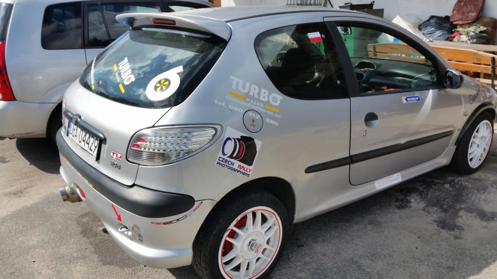 Présentation.   Peugeot 206 1.6 année 99 pour le sport amateur 20190911