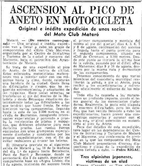 bultaco - Vespino contra Bultaco en el pico Aneto Vespin11