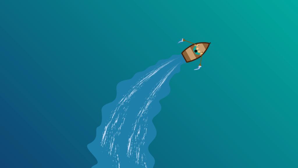 Жизненная мотивация (мышление на миллион) Boat-511