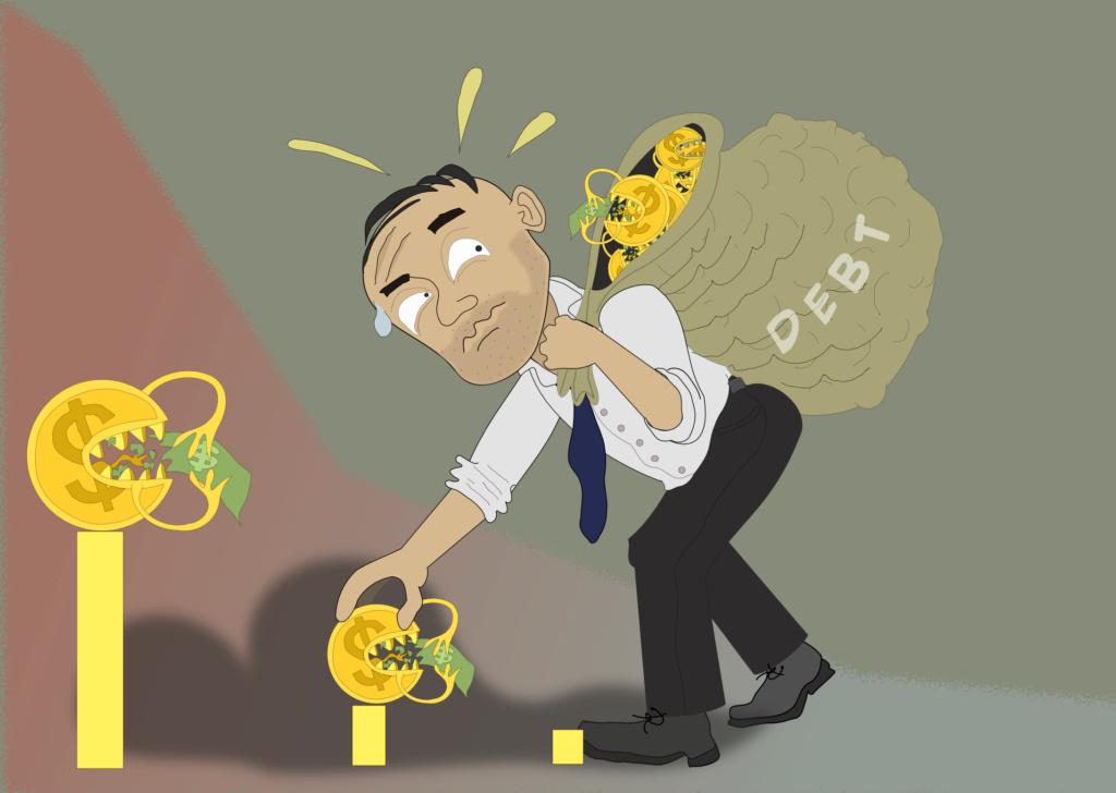 Кабалиный укус Debt-110