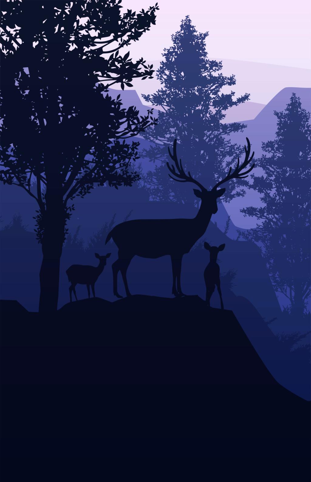 Жизненная мотивация (мышление на миллион) Deer-410