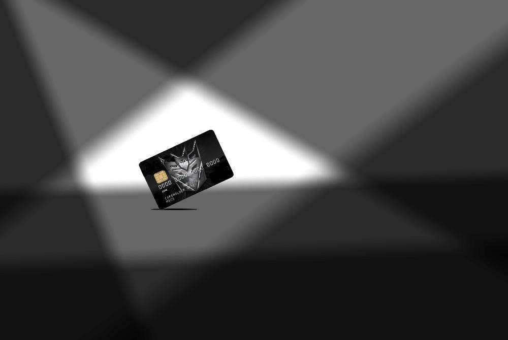 """Кредитная карта """"Трансформер"""" E10"""