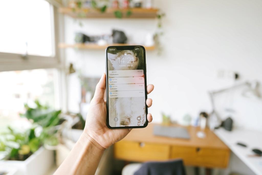 PUSH-уведомления Iphone10