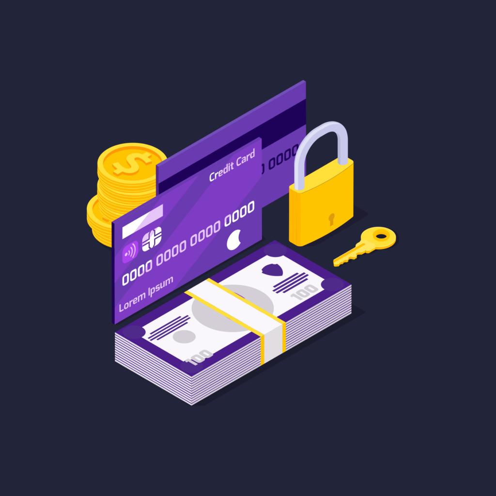 Банковские карты, неподвластные судебным приставам Lock-510