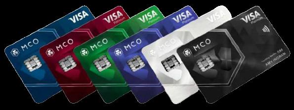 Криптовалютные карты Mco-ca11