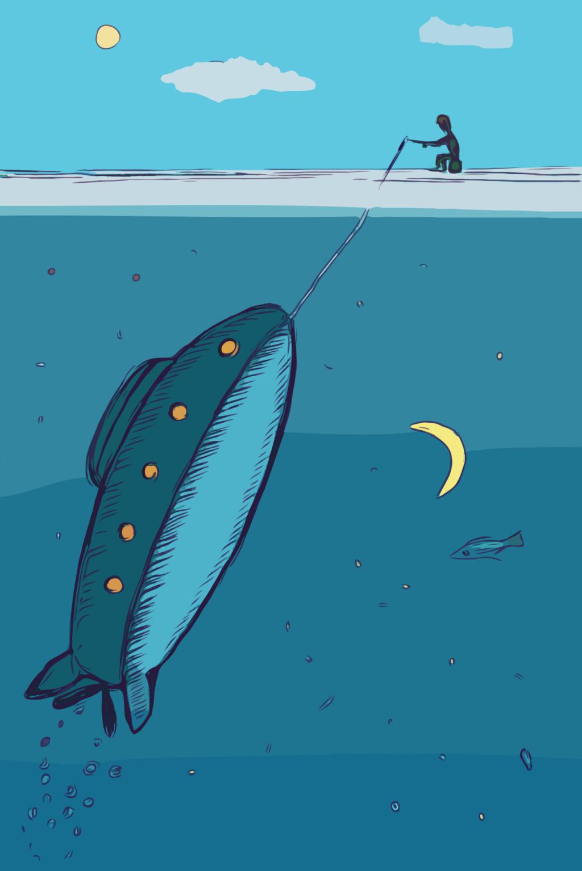 Путь рыбака / рыболова Submar10