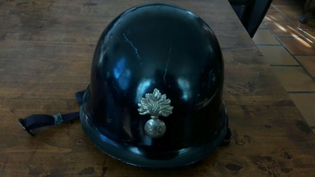 Casque Gendarmerie Départementale année 65. Dd4f1d10
