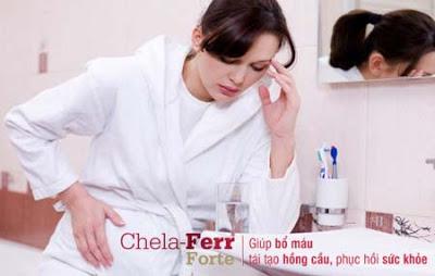 Mẹ có hiểu vì sao khi mang thai mẹ thường gặp tình trạng thiếu máu thiếu sắt? Giai-p10