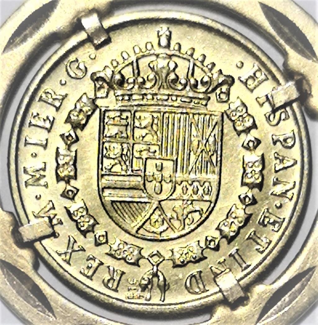 Moneda oro Isabel II 1210