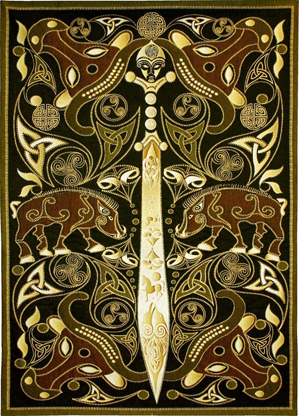 Irish Folklore Art  918wyw10