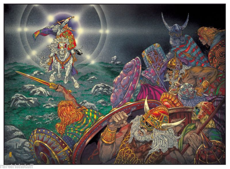 Irish Folklore Art  Fba8a110
